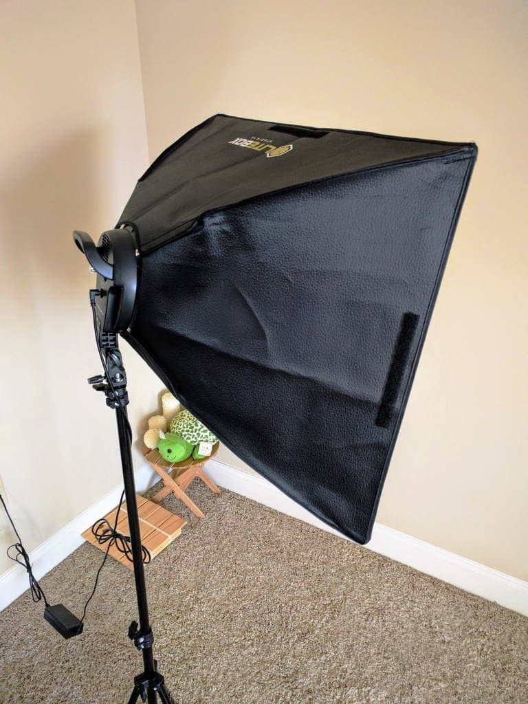 DIY home photo studio